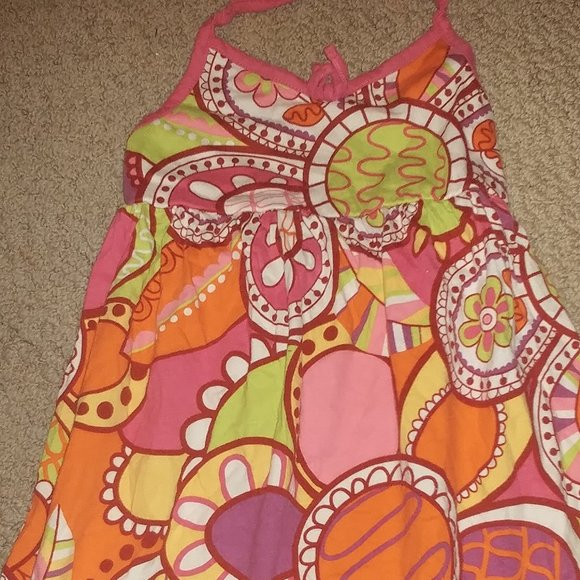 Girls Floral Summer Sundress 4T